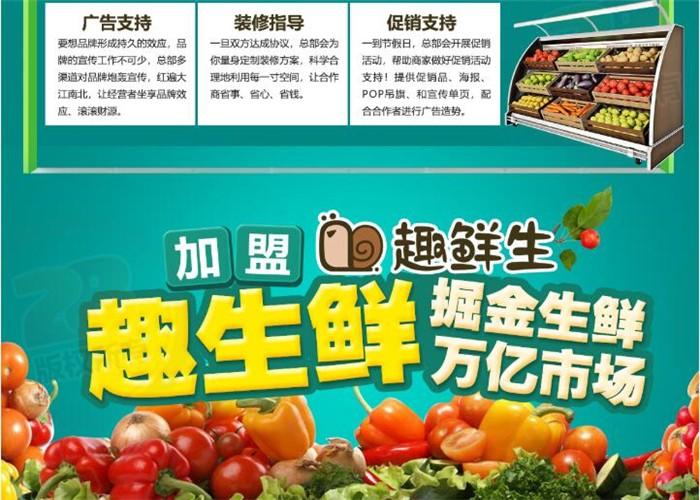 生鲜超市生意火爆顾客川流不息!